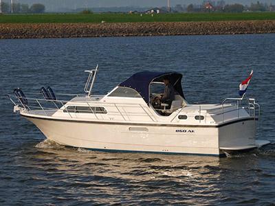 location bateau Marco 860 AK
