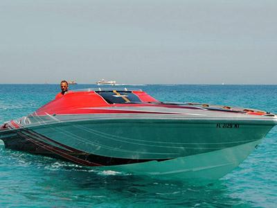 location bateau Sunsation F4