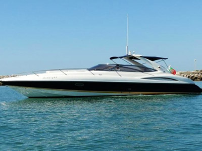 location bateau Sunseeker Superhawk 34