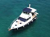 location bateau Luxor 40 Fly