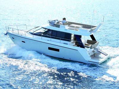 location bateau Sealine F450