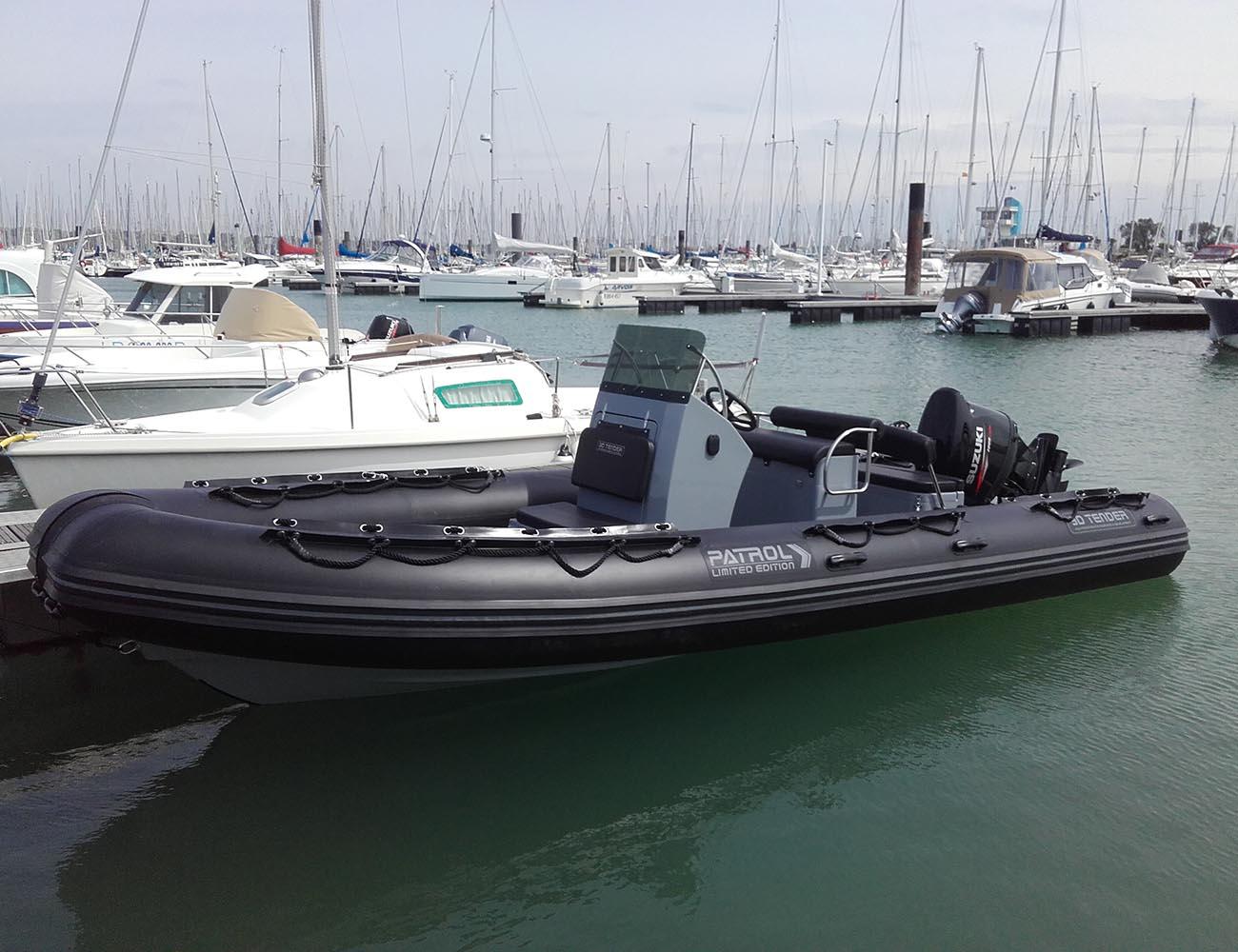 location bateau 3D Tender Patrol 6.50