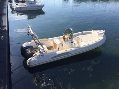 location bateau Tempest 700 Open