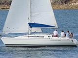 location bateau First 305