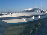 location bateau Gianetti 38 Open