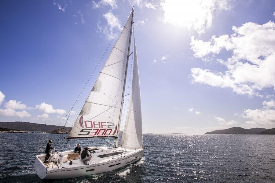 location bateau Salona 380