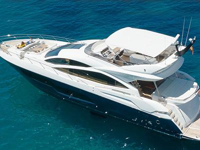 location bateau Sunseeker 80