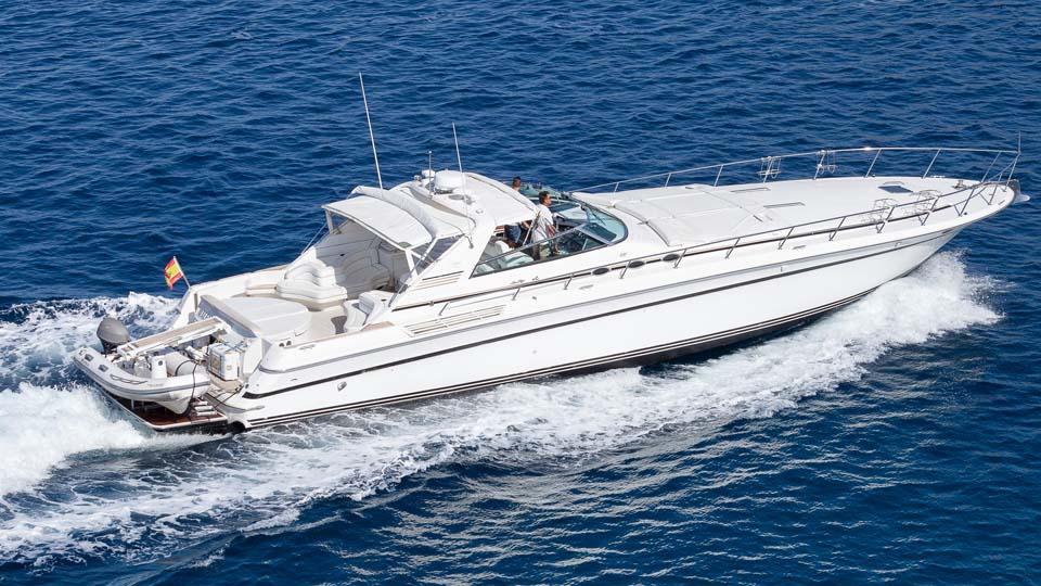 location bateau Sea Ray 630