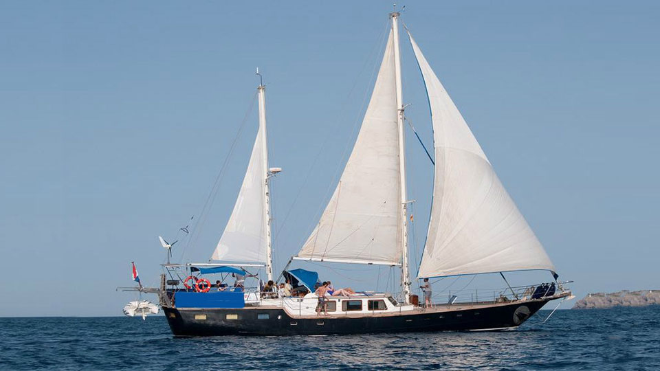 Location bateau  Classic Sailing yacht 22m