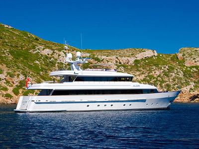 location bateau Heesen 115