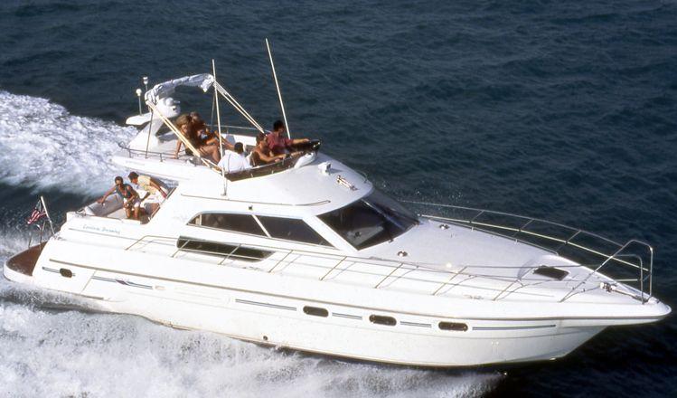 Location bateau  Sealine 450