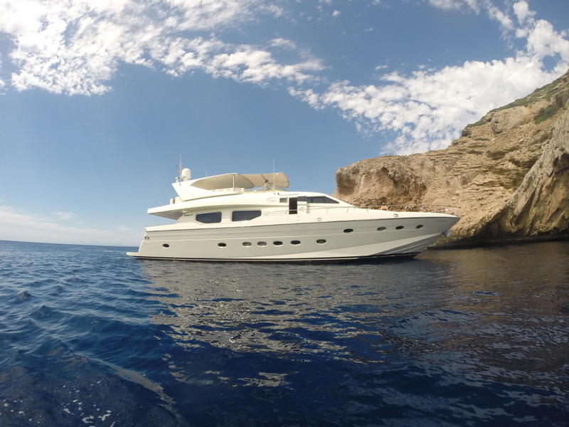 location bateau Technema 85
