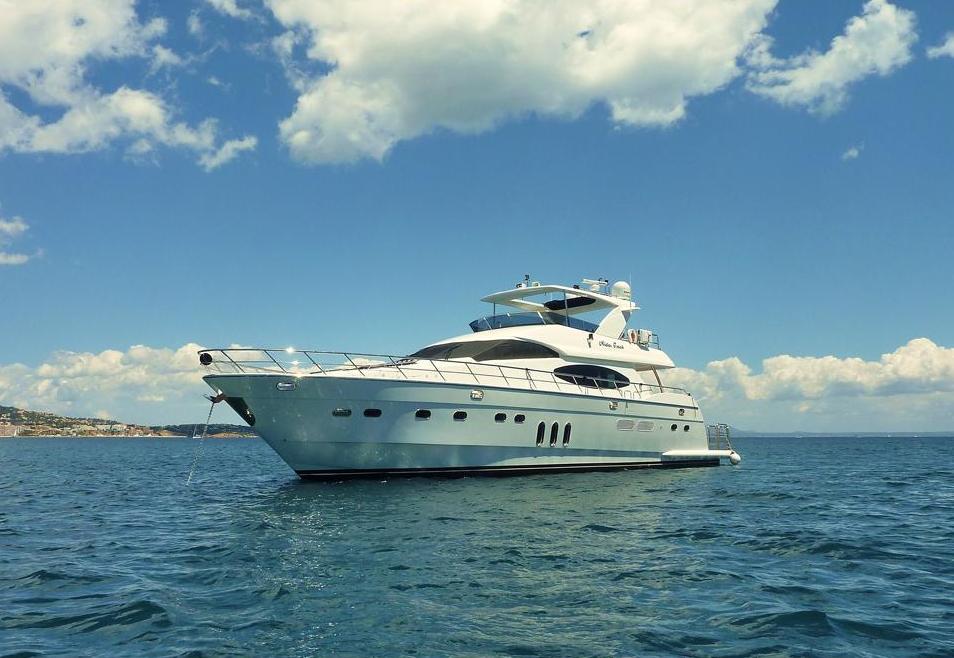 location bateau Vitech 80