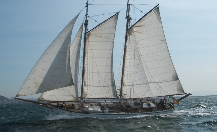 Location bateau  Gaff Schooner 60