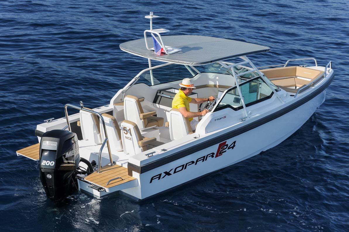 location bateau Axopar 24 TT