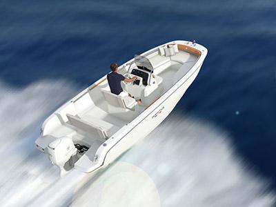 location bateau Invictus 190 FX