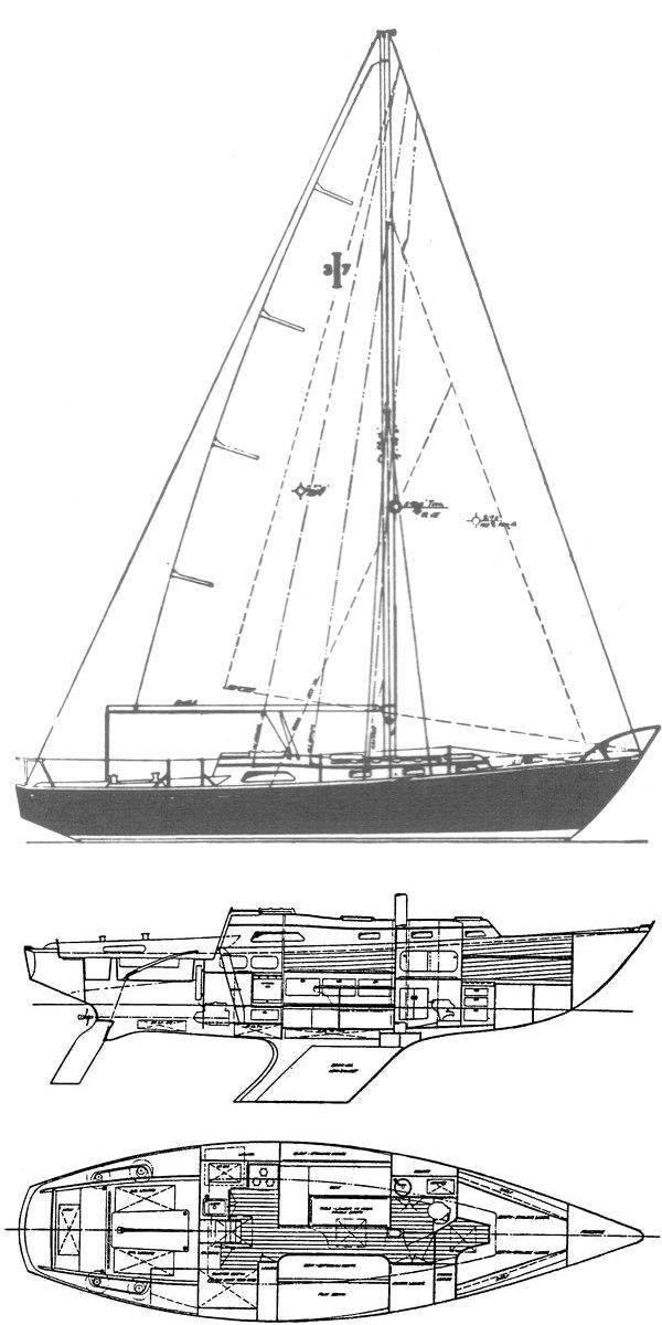 inside Islander 37