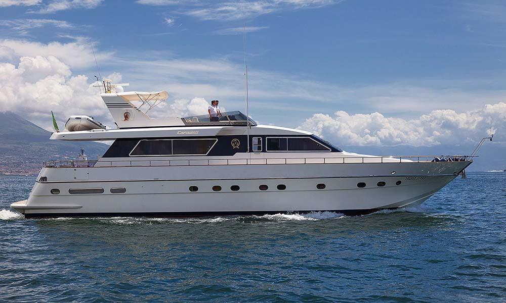 location bateau Canados 72