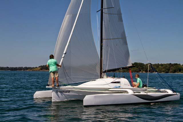 Location bateau  Tricat 25