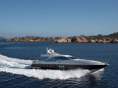 location bateau Azimut 86S