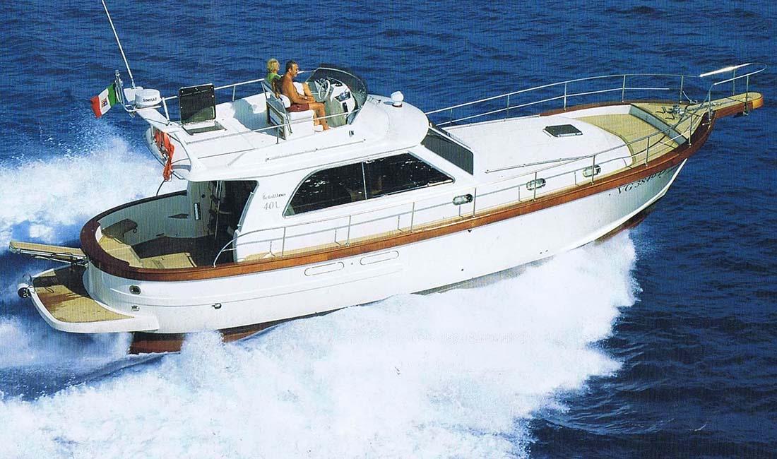 location bateau Sciallino 34 Fly