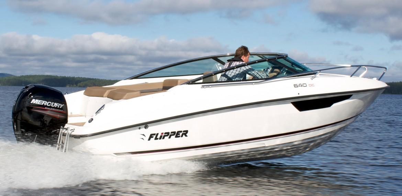 location bateau Flipper 640 DC