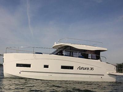 location bateau Futura 36