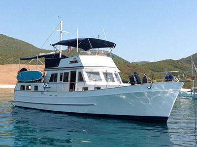 location bateau Hampton 42