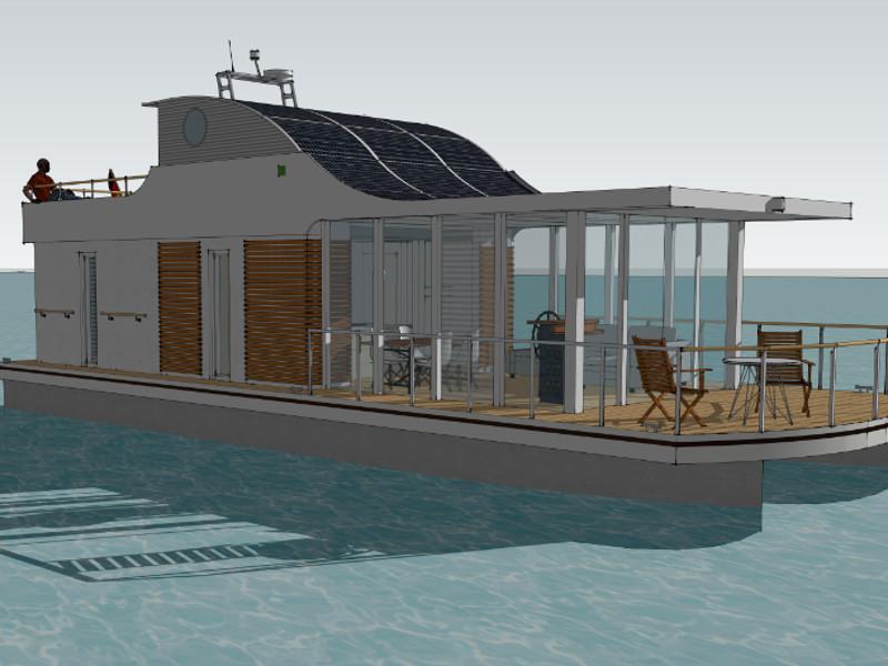 location bateau House Yacht Devin 1.5