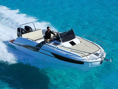 location bateau Flyer 7 Sun Deck