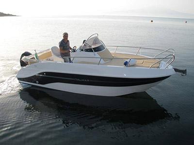 location bateau Italmar WA 20 Plus