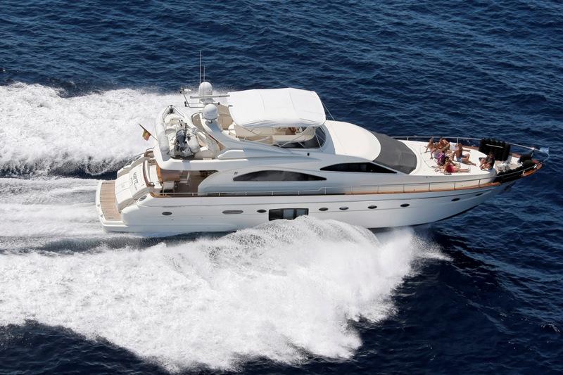 Location bateau  Astondoa 72 GLX