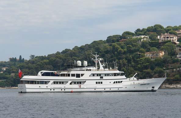 location bateau Sanssouci Star