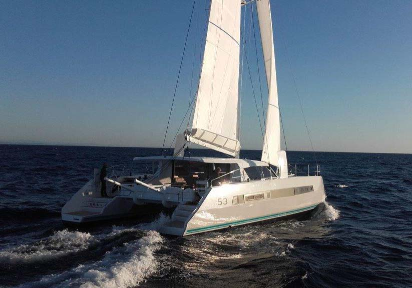 location bateau Catana 53
