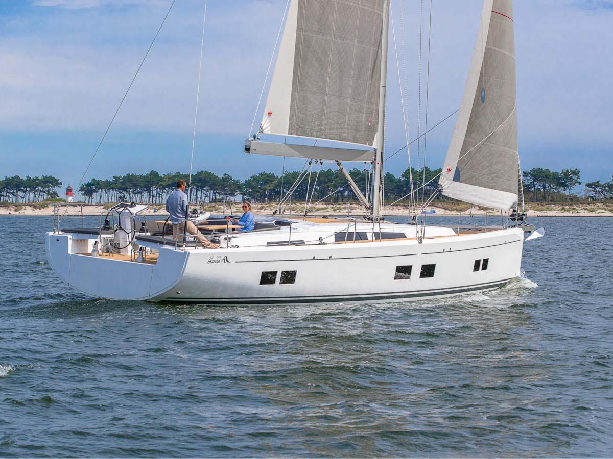 location bateau Hanse 548
