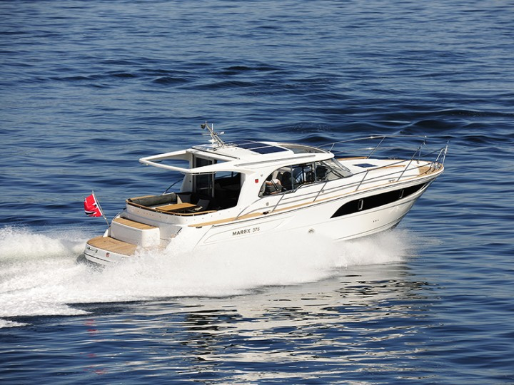 location bateau Marex 375