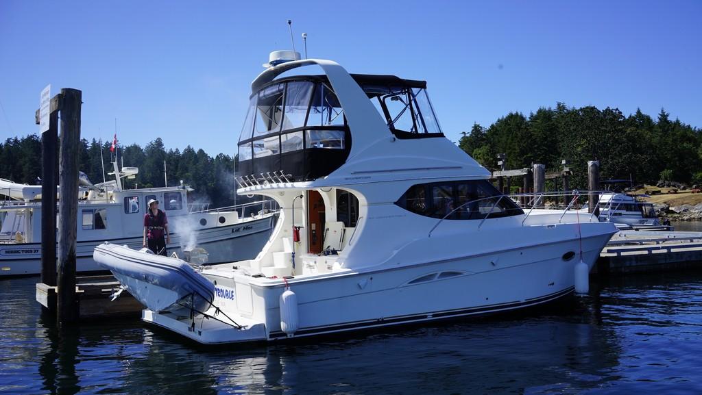 location bateau Silverton 34