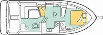 interno Bayliner 3888