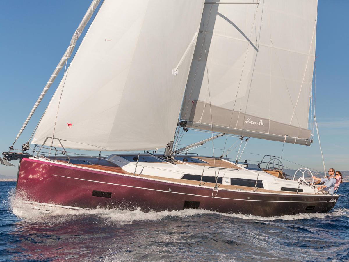 location bateau Hanse 388