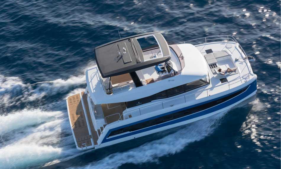 location bateau MY 44