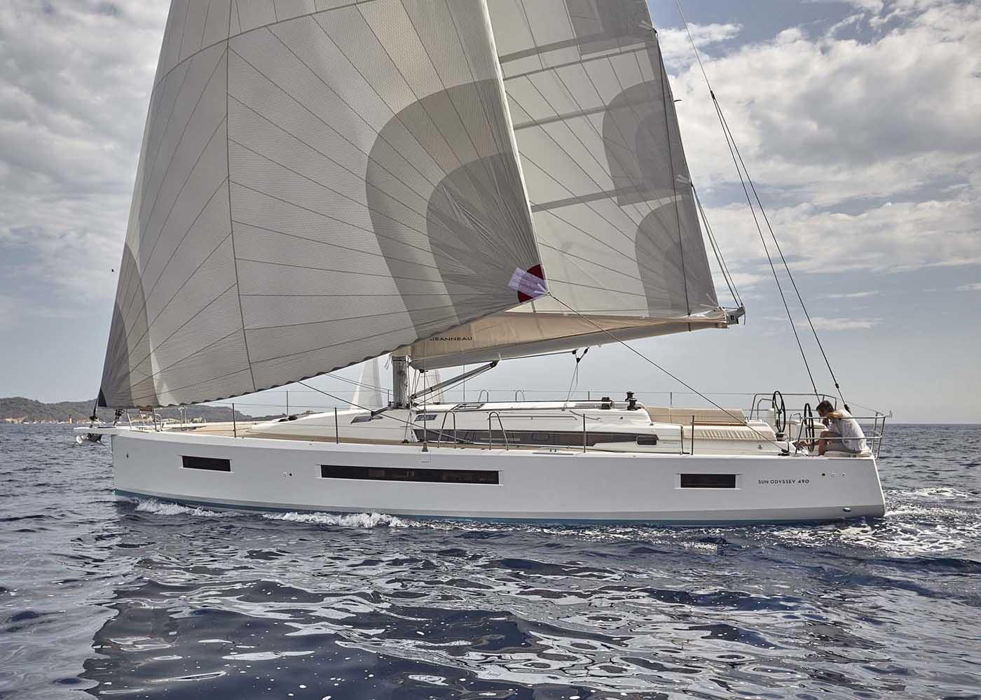 location bateau Sun Odyssey 490