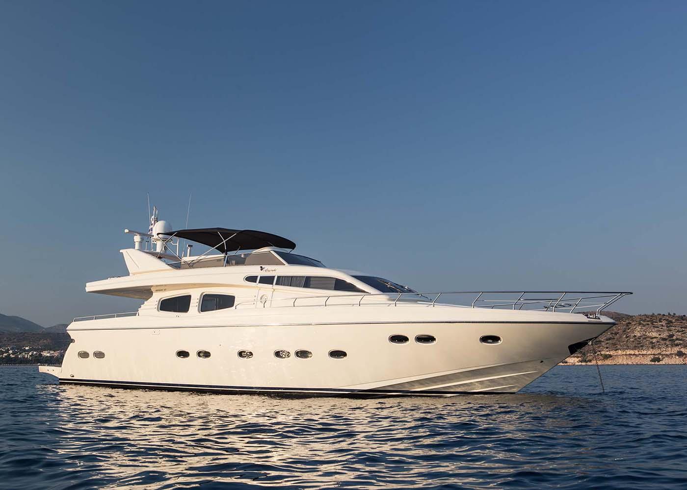 Location bateau  Rizzardi Posillipo 70