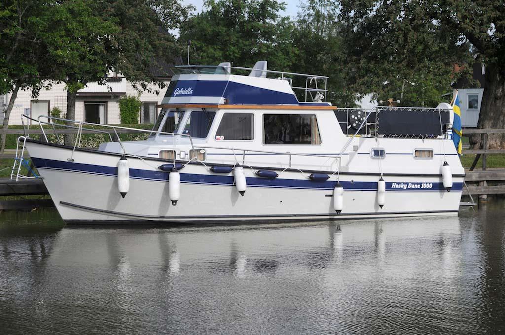 location bateau Gabriella