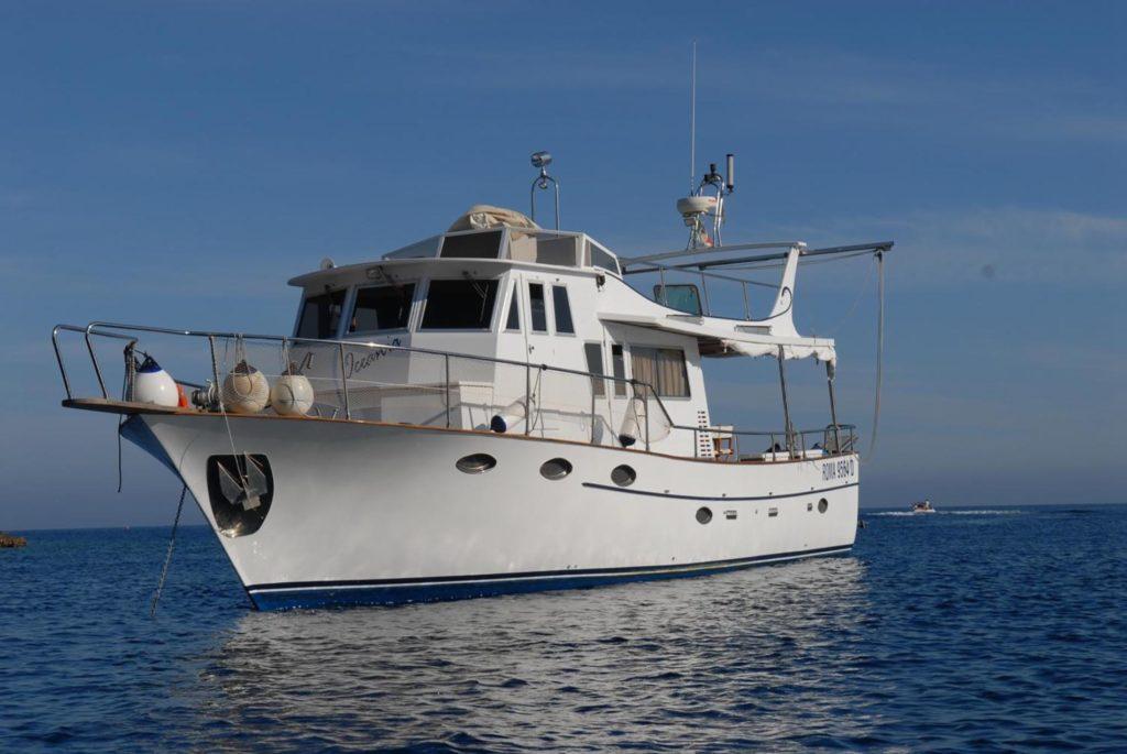 location bateau Oceania