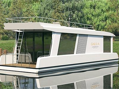 location bateau Gallaxy 12
