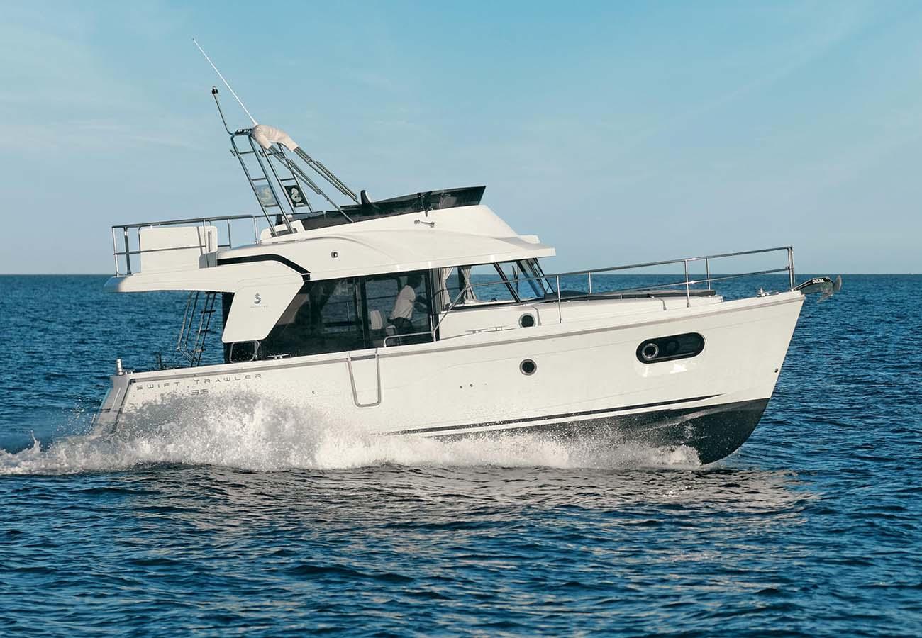 location bateau Swift Trawler 35
