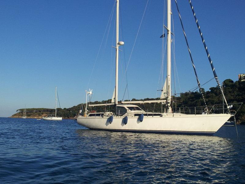 location bateau Amel Maramu