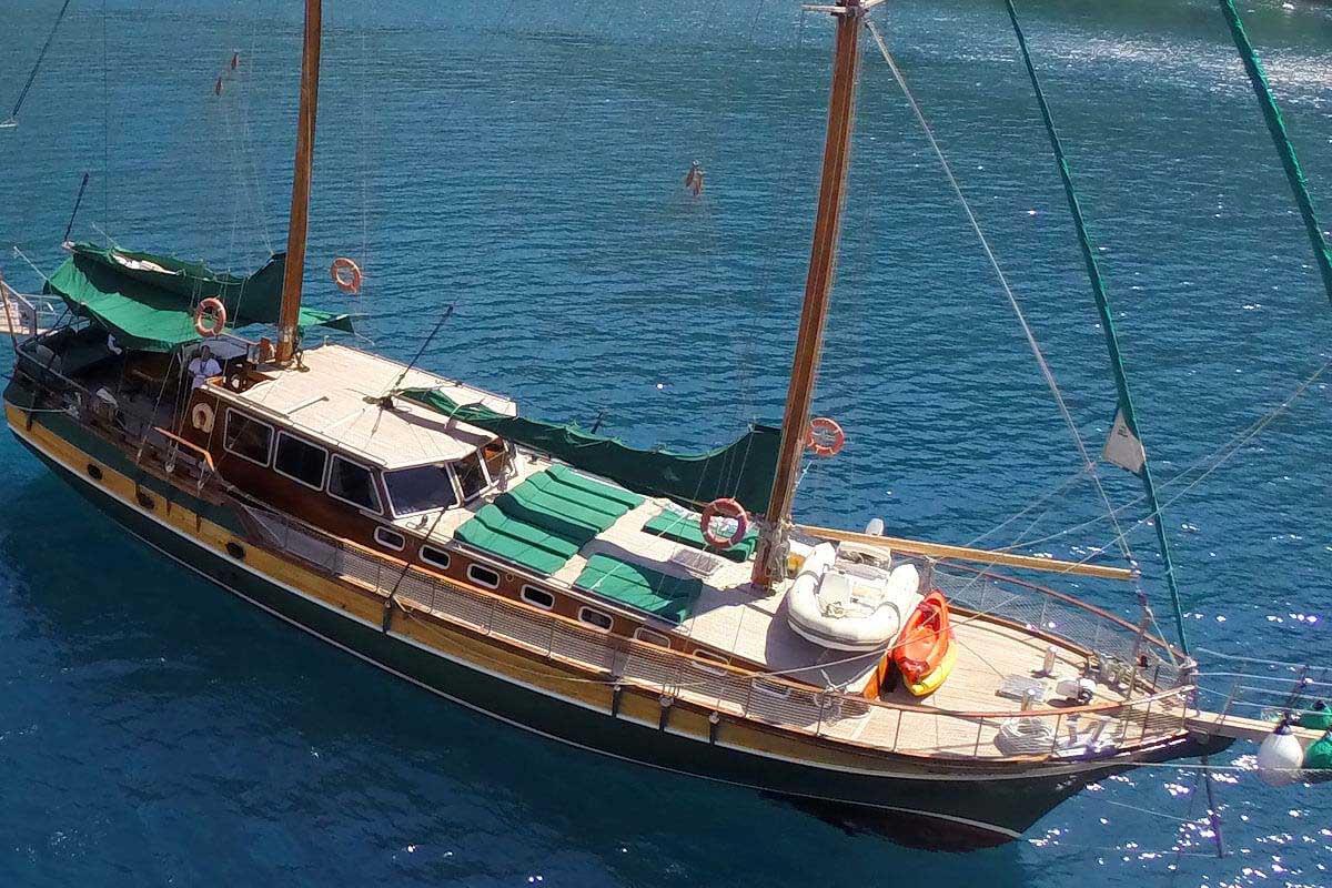 location bateau Kapetan Kosmas