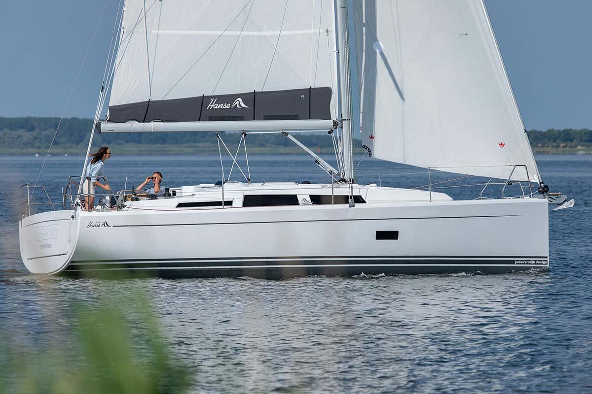 location bateau Hanse 348