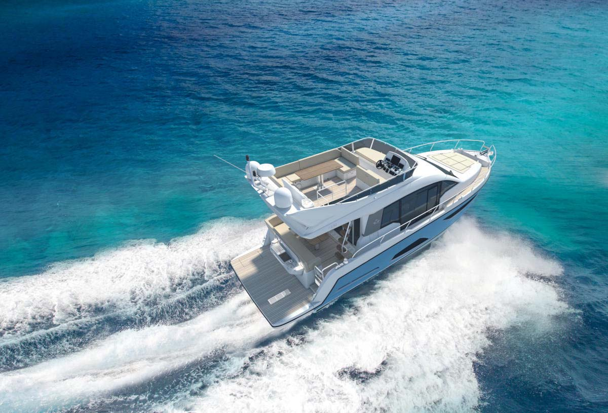 location bateau Sealine F430